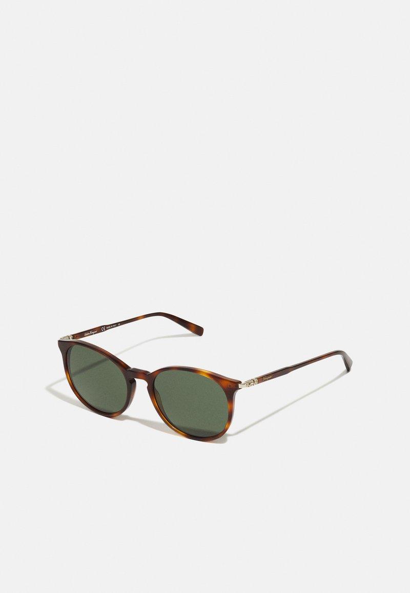 Salvatore Ferragamo - UNISEX - Sluneční brýle - tortoise