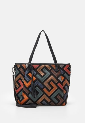 CILLY - Shopping Bag - black