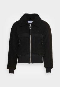 Calvin Klein Jeans - POLAR SHORT JACKET - Winter jacket - black - 4