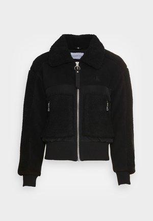 POLAR SHORT JACKET - Winter jacket - black