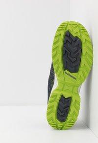 Lowa - MADDOX GTX - Hiking shoes - navy/limone - 4