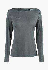 Mammut - LONGSLEEVE - Sports shirt - phantom melange - 3