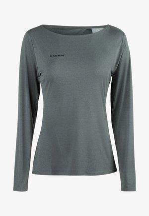 LONGSLEEVE - Sports shirt - phantom melange