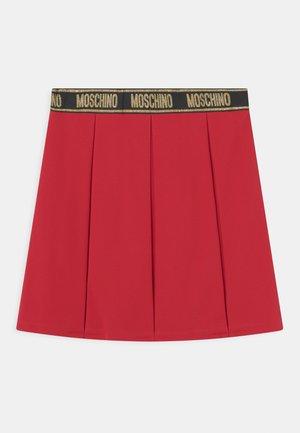 SKIRT - Mini skirt - flame red