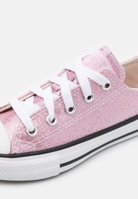 Converse - CHUCK TAYLOR ALL STAR GLITTER - Trainers - pink glaze/white/black - 5