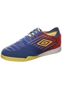 Umbro - CHALEIRA II PRO - Indoor football boots - deep surf / golden kiwi / toreador - 2