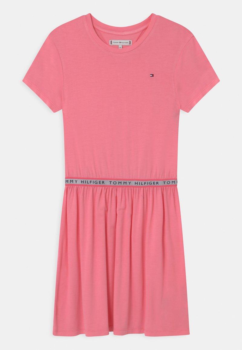 Tommy Hilfiger - BRANDED TAPE - Vestito di maglina - cotton candy