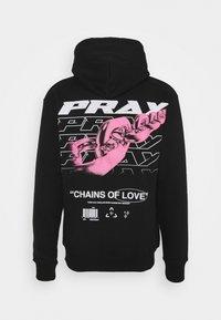 PRAY - CHAIN OF LOVE HOODY UNISEX - Sweatshirt - black - 0