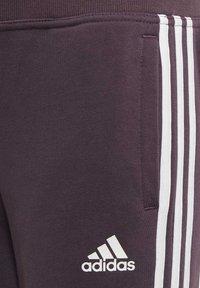 adidas Performance - HOODED COTTON TRACKSUIT - Trainingspak - purple - 7