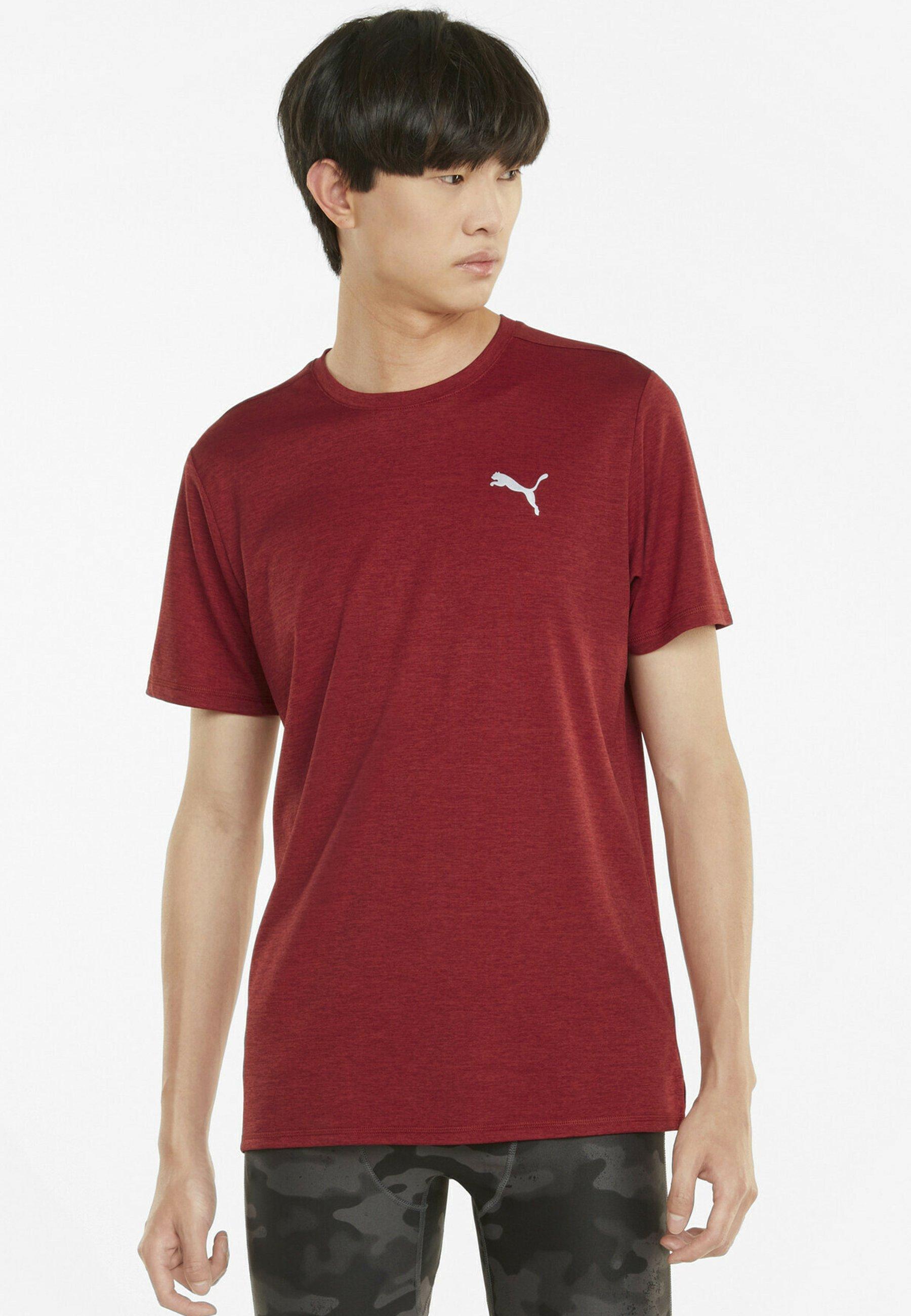 Uomo RUN FAVORITE HEATHER TEE - T-shirt basic