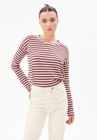 ARMEDANGELS - PALINAA  - Long sleeved top - kitt-ruby red - 0