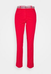 Tommy Hilfiger - CHINO SLIM PANT - Chinos - primary red - 0