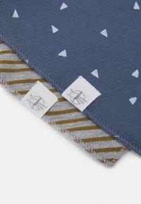 Lässig - BANDANA COWL NECK TRIANGLE 2 PACK UNISEX - Foulard - blue/grey mélange - 4