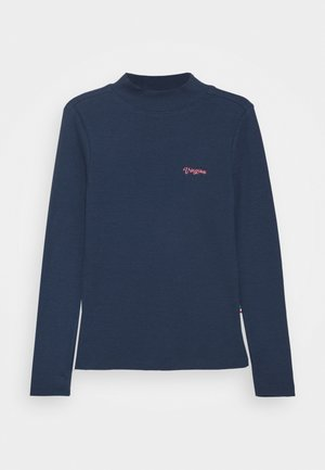 BASIC TEE - Longsleeve - dark blue