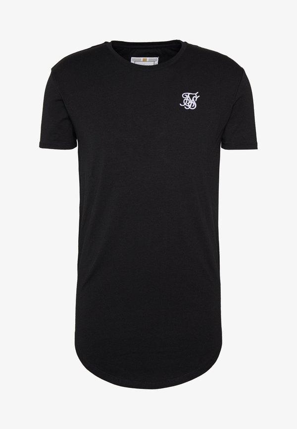 SIKSILK T-shirt basic - jet black/czarny Odzież Męska FKAQ