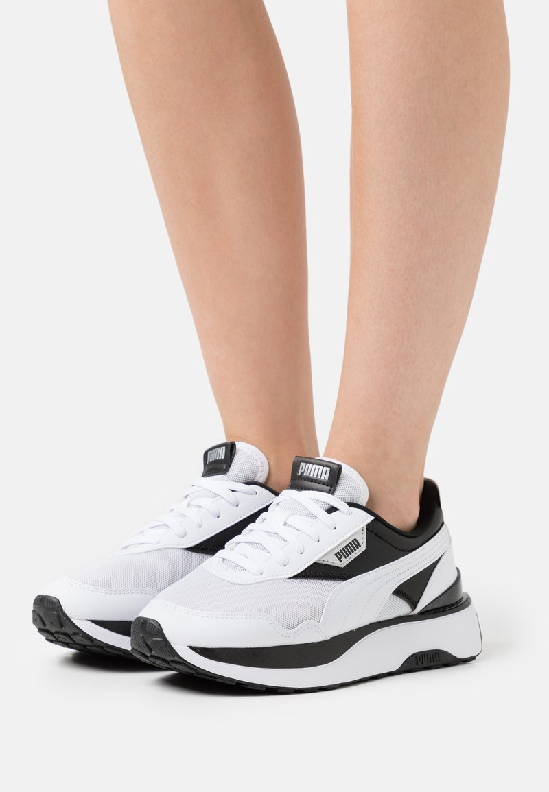Puma - CRUISE RIDER - Trainers - white/black