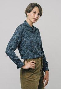 Brava Fabrics - Overhemdblouse - blue - 0