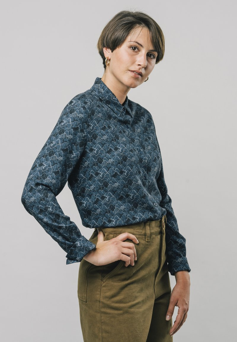 Brava Fabrics - Overhemdblouse - blue