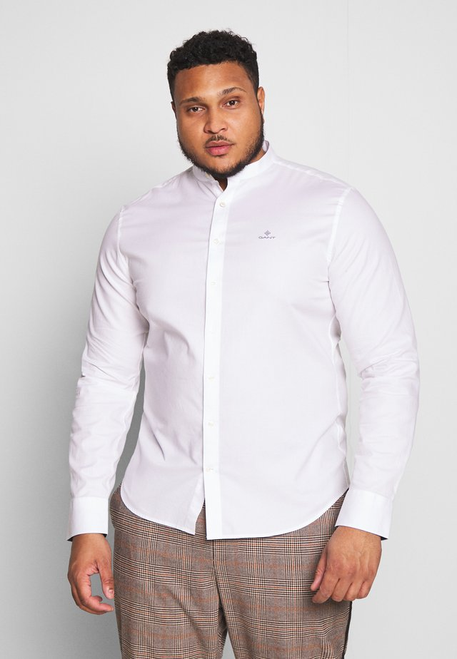 ROYAL OXFORD SLIM BAND - Shirt - white