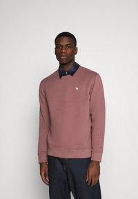 Abercrombie & Fitch - ICON CREW - Sweatshirt - burgundy - 0