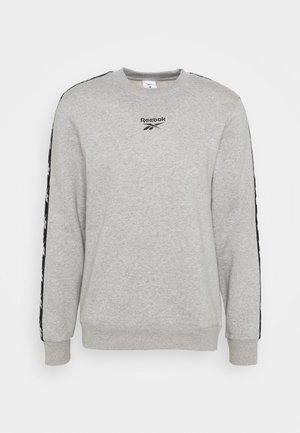 TAPE CREW - Sweatshirt - medium grey heather