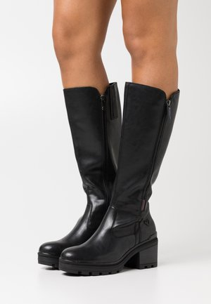 BOOTS - Platform boots - black antic