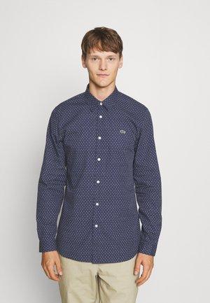 Košile - bleu marine / blanc