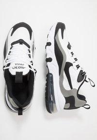 Nike Sportswear - AIR MAX 270 REACT - Trainers - white/black/metallic pewter - 1