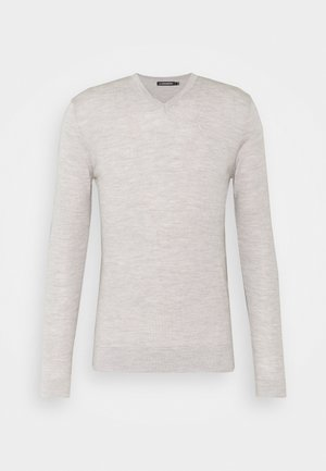 Jumper - stone grey melange