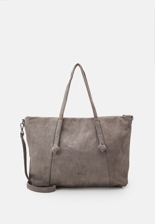 LEJA - Shopping bag - stone
