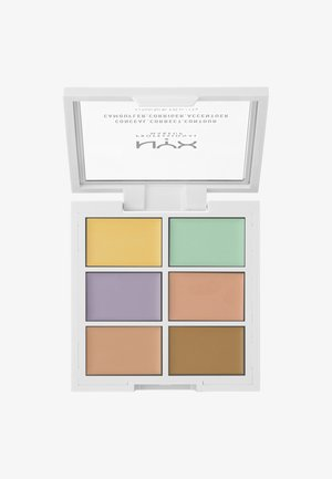 3C PALETTE CONCEAL,CORRECT,CONTOUR - Sminkpalett - 4 correcting