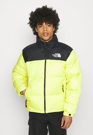 1996 RETRO NUPTSE JACKET UNISEX - Down jacket - sulphur spring green