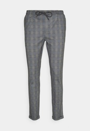 NEW EBERLEIN EXCLUSIV - Trousers - check grey