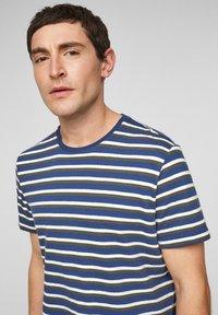 s.Oliver - Print T-shirt - blue stripes - 4
