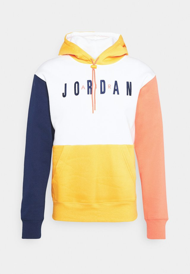 JUMPMAN AIR - Sweatshirt - white/university gold