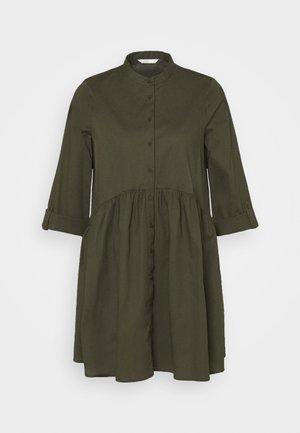ONLDITTE LIFE DRESS - Shirt dress - forest night