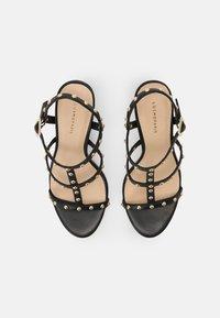 Cosmoparis - HILENIA - High heeled sandals - noir - 4