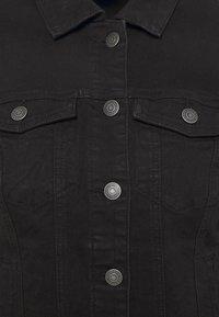 Vero Moda Tall - VMHOT SOYA JACKET - Denim jacket - black - 6