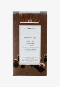 Korres - ARGAN OIL ADVANCED COLORANT - Hair colour - 6.3 golden/ honey dark blonde - 0