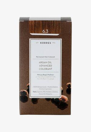 ARGAN OIL ADVANCED COLORANT - Hair colour - 6.3 golden/ honey dark blonde