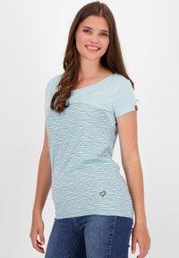 alife & kickin - Print T-shirt - ice - 3