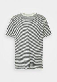 Obey Clothing - IDEALS STRIPE TEE - Print T-shirt - aqua /multi - 1