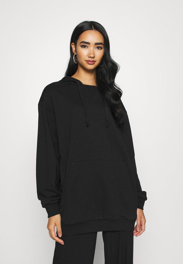 OVERSIZE HOODIE - Sweater - black