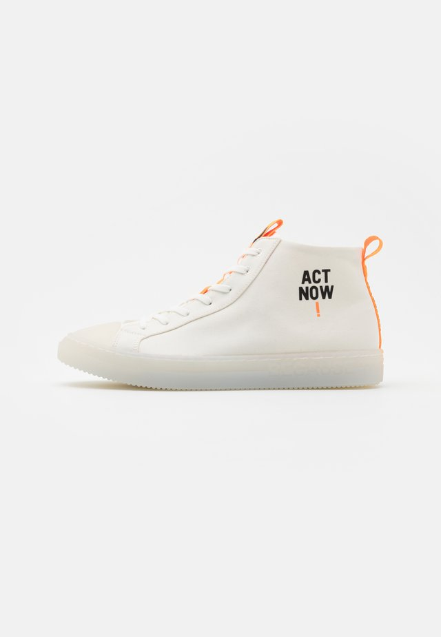 COOL MAN - Sneakers hoog - offwhite