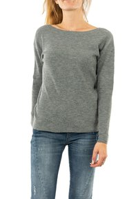 Morgan - MGUIA - Sweatshirt - gris - 0