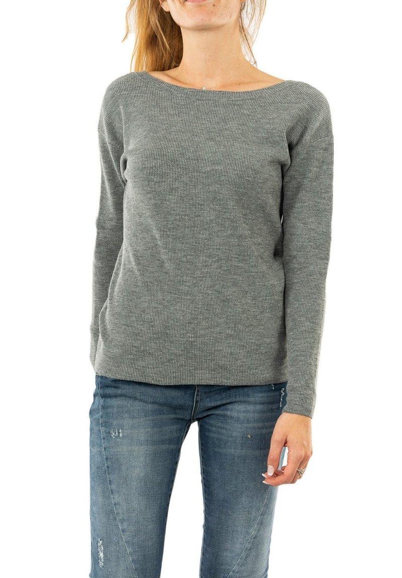 Morgan - MGUIA - Sweatshirt - gris