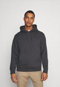 Topman - HOOD UNISEX 2 PACK - Sweatshirt - grey - 2