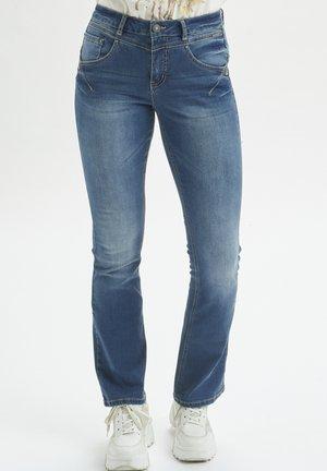 Bootcut jeans - blue denim