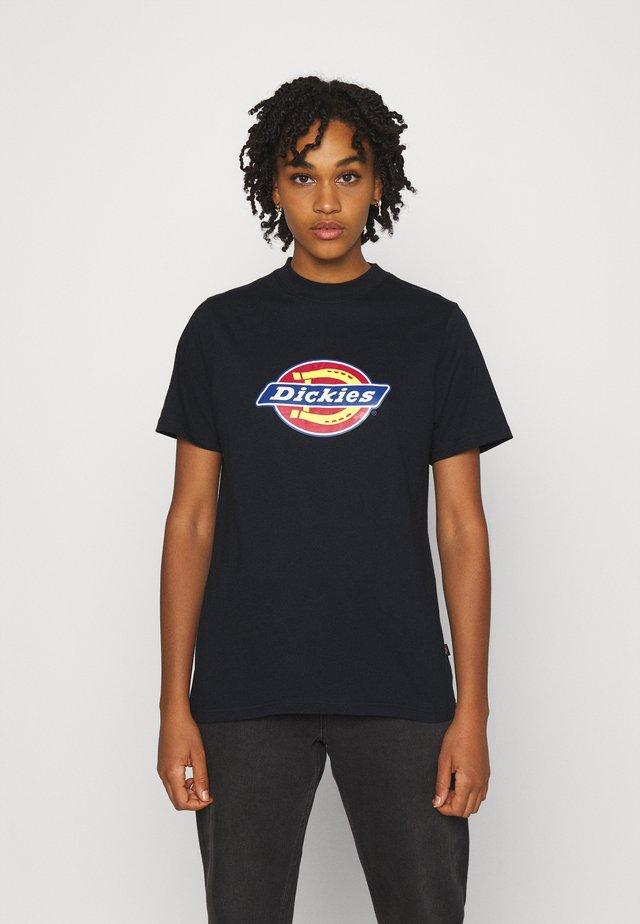 ICON LOGO TEE - T-shirt imprimé - black