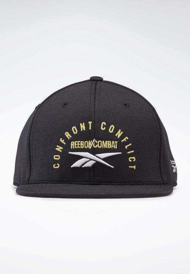 COMBAT SIX-PANEL CAP - Casquette - black